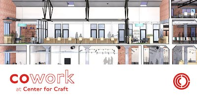 Cowork at Center for Craft   Open House