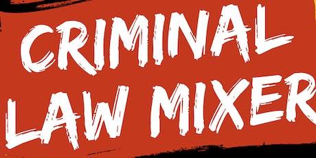 Calgary Criminal Law Mixer tickets
