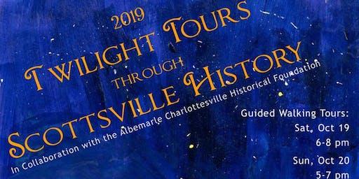 Twilight Tours Through Scottsville History (Victory Hall)
