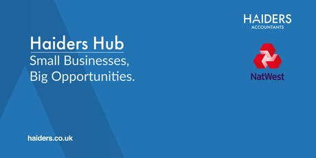 Haiders Hub - Monthly Networking Event October 2019 tickets