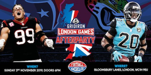 The Gridiron London Games Party