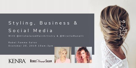 Styling, Business & Social Media tickets