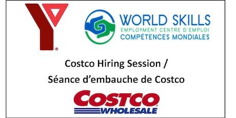 Costco Hiring Session (Bilingual) / Seance d'embauche de Costco (bilingue) - October tickets