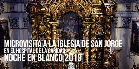 NB Microvisitas a la Iglesia de San Jorge Hospital de la Caridad.  entradas