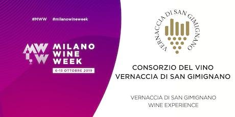 MILANO WINE WEEK_ Consorzio del Vino Vernaccia di San Gimignano biglietti