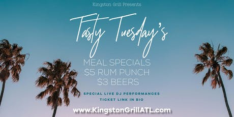 Tasty Tuesday's tickets