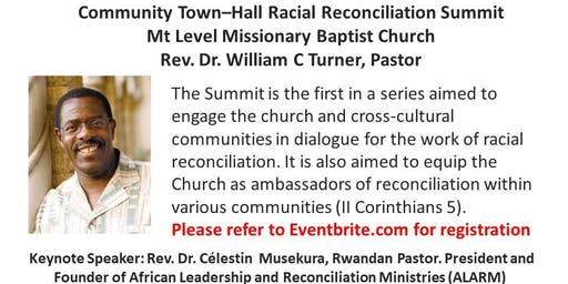 Community Town Hall - Racial Reconciliation Summit