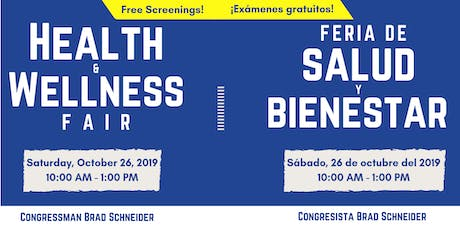2019 Health & Wellness Fair hosted by Rep. Brad Schneider tickets