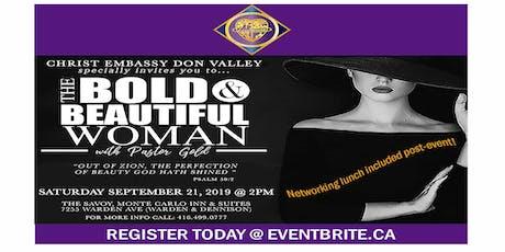 The Bold &  Beautiful Woman tickets