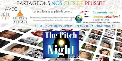 "Pitch Night Paris Spécial ""Smart City"""