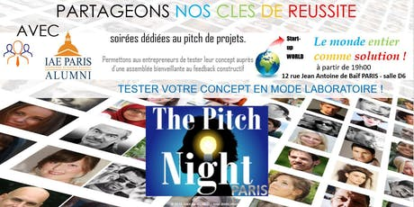 "Pitch Night Paris Spécial ""Smart City"" billets"