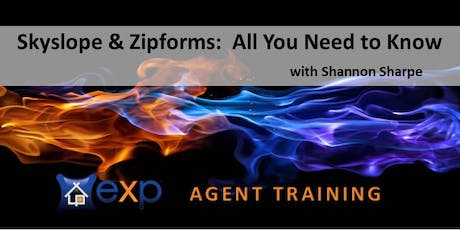 AGENT TRAINING CLASS:  Skyslope & Zipforms with Shannon Sharpe tickets
