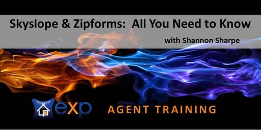 AGENT TRAINING CLASS:  Skyslope & Zipforms with Shannon Sharpe