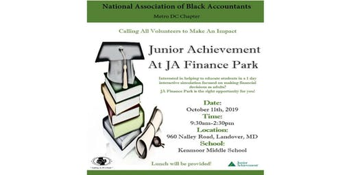 NABA Metro DC Junior Achievement Day at JA Finance Park