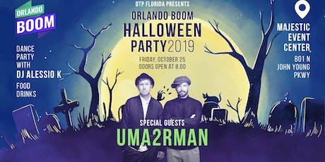 UMA2RMAN Halloween Party tickets
