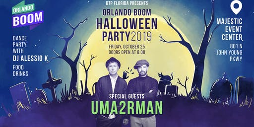 UMA2RMAN Halloween Party