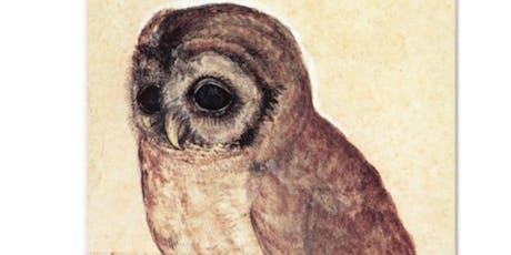 """The Little Owl"" - Kids Art Workshop tickets"