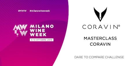 MILANO WINE WEEK_ Masterclass Coravin biglietti
