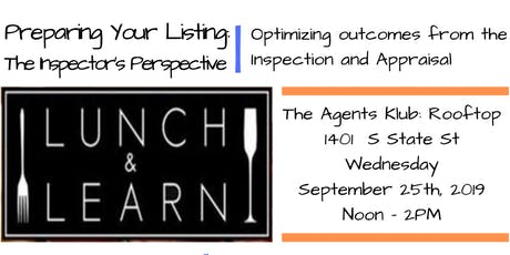 Real Estate Lunch and Learn: Preparing Your Listing tickets