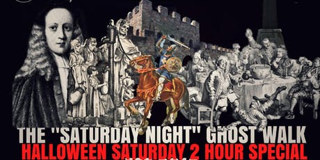"Flecky Bennett's Halloween Saturday ""Saturday Night"" Manchester Ghost Walk 2019 tickets"