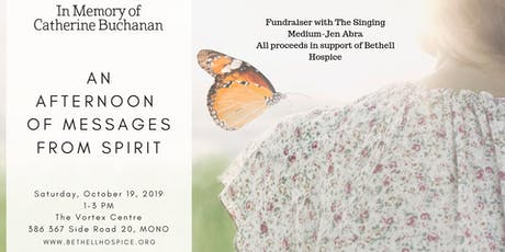 An Afternoon of Messages from Spirit-In Support of Bethell Hospice tickets