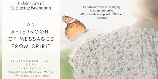 An Afternoon of Messages from Spirit-In Support of Bethell Hospice