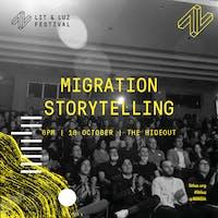 Migration Storytelling, Lit & Luz Festival of Language, Literature, and Art