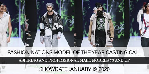 MALE MODEL CASTING CALL FOR FASHION NATION'S MODEL OF THE YEAR