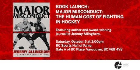 Book Launch: Major Misconduct tickets