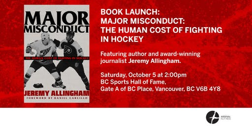 Book Launch: Major Misconduct