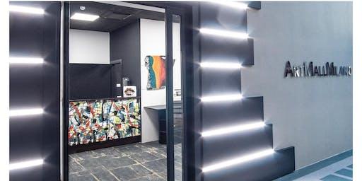Galleria Eliseo. Aperitivo & dj set in art concept store.