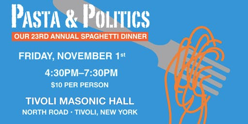 23rd Annual Pasta and Politics