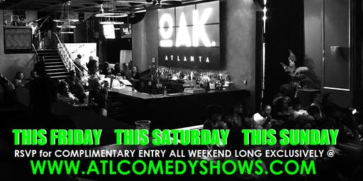 ATL Comedy Shows 2019