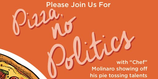 Pizza, No Politics!
