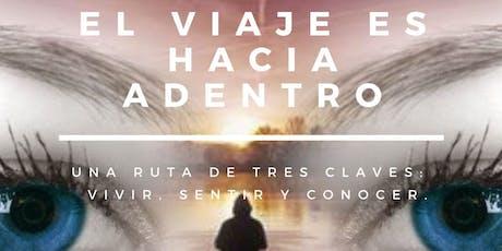 """Charla """"El viaje es hacia adentro"""". Por: Juan Diego Tobón Lotero, Psicólogo entradas"""