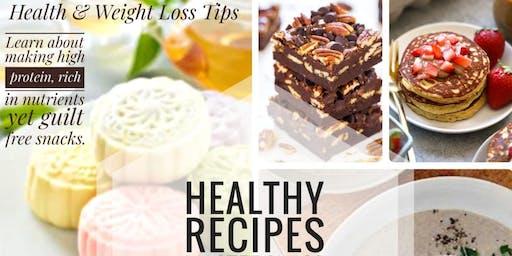 HEALTHY RECIPES CLASS