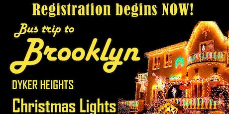 Holiday Trip Dinner at Spumoni Gardens & Dyker Lights                                                 tickets