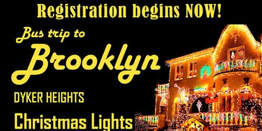 Holiday Trip Dinner at Spumoni Gardens & Dyker Lights