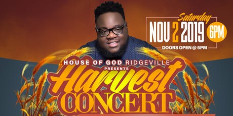 Jarell Smalls & Company  Harvest Concert  tickets