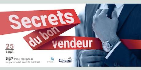 5@7 Les secrets du bon vendeur billets