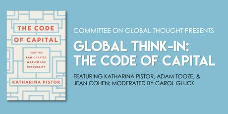 Global Think-in: The Code of Capital tickets