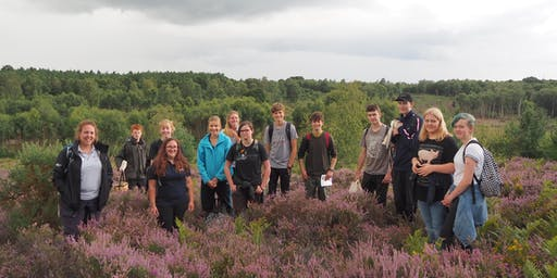 South Downs Youth Action at Ambersham Common