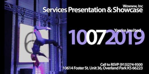 Wowww, Inc services presentation & product demos / showcase