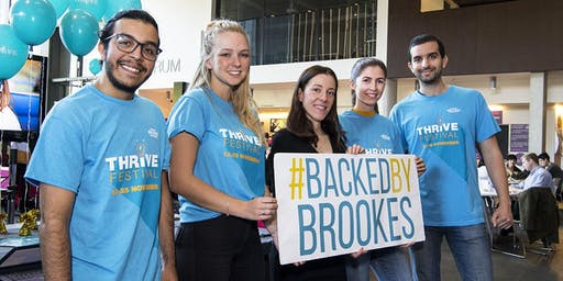 Backed by Brookes Showcase