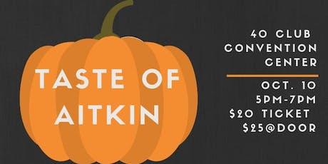 Taste of Aitkin tickets