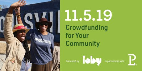 Crowdfunding for Your Community tickets