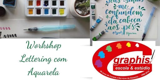 Workshop Lettering com Aquarela @Typolly - Escola Graphis