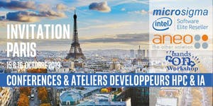 Conférence Développeurs Intel® Software calcul HPC et...