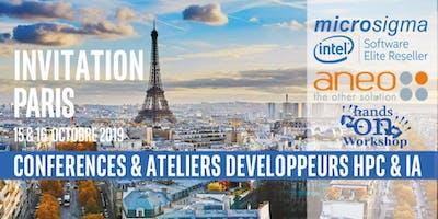 Conférence Développeurs Intel® Software calcul HPC et IA Paris 15-16 Octobre 2019