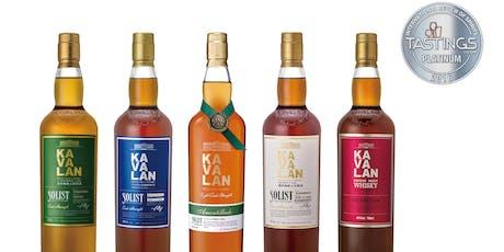 Kavalan Whiskey Tasting tickets